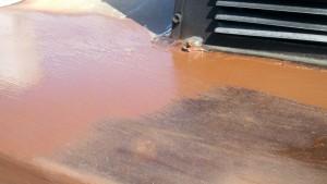 calvert painting rust prep